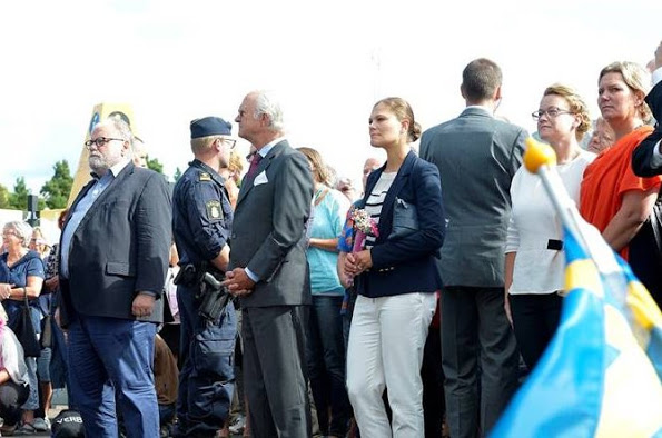 Princess Victoria Attended The Opening Of The Power Plant In Oskarshamn