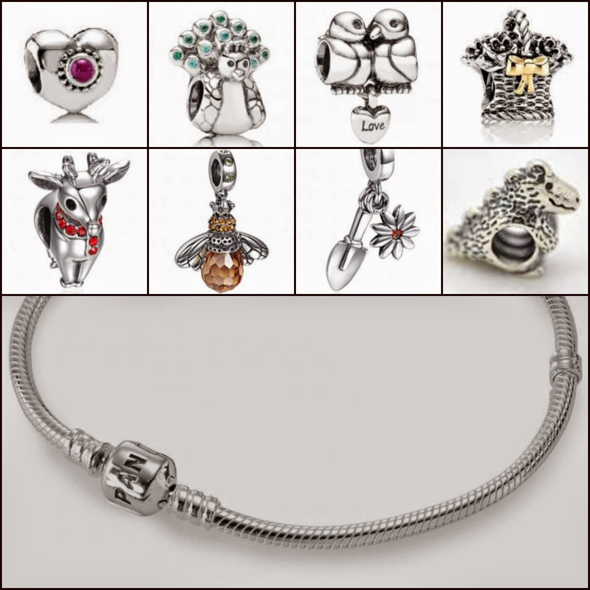 At Christmas He Bought Me My Very First Pandora Charm Bracelet And Charms  (above) But I Hadn't Got Around To Showing You Yet