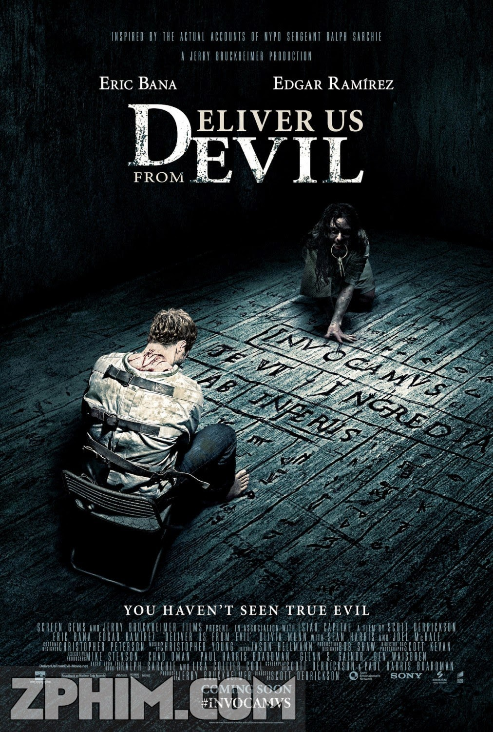 Linh Hồn Báo Thù - Deliver Us from Evil (2014) Poster