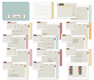 Up To Date Planner Template - Digital Download