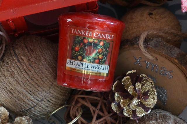 Red Apple Wreath - zapach świąt zamknięty w samplerze Yankee Candle