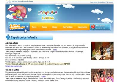 Descontos Incríveis para espetáculos Infantis e Adulto