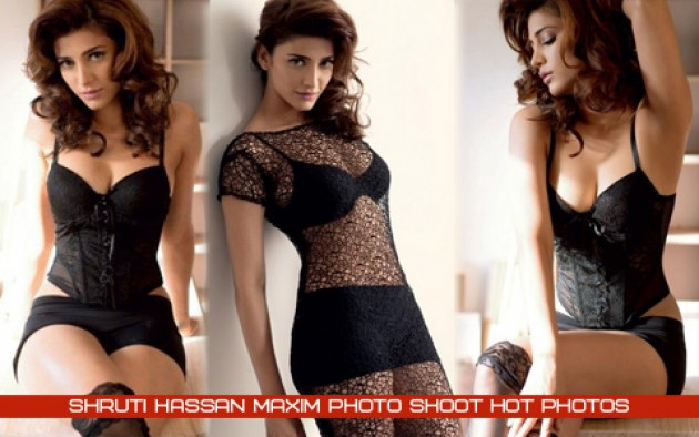 Shruthi Hassan Maxim Photoshoot Hot Photos