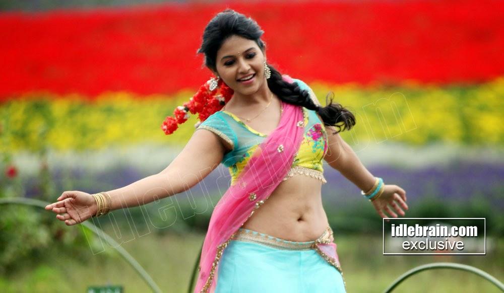 Anjali big navel