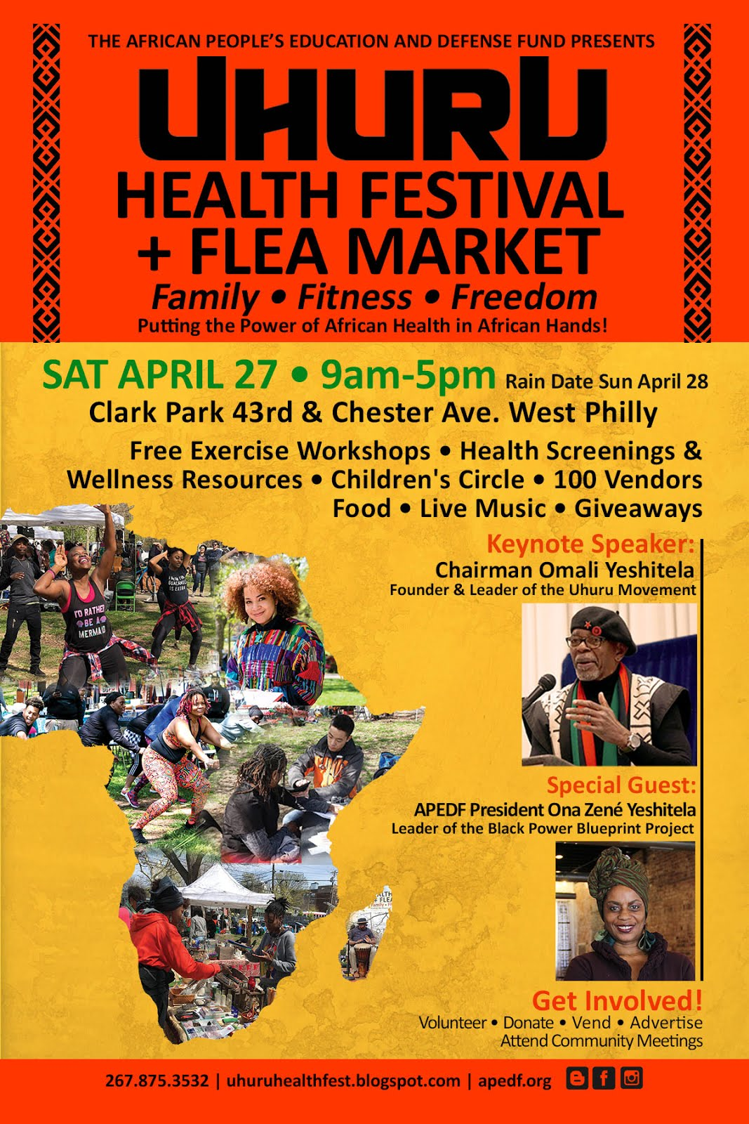 8th Annual Uhuru Health Festival