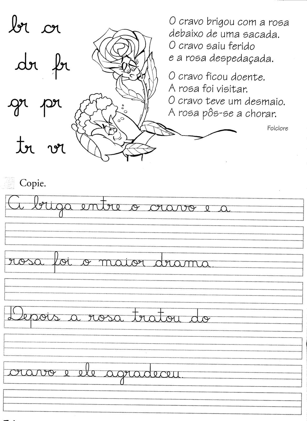 atividades aprender escrever com letra cursiva alfabetiza o infantil tudo se transforma. Black Bedroom Furniture Sets. Home Design Ideas