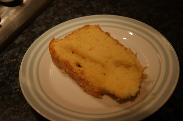 Tropical mango and coconut sponge cake, baking,experimenting with cake recipes
