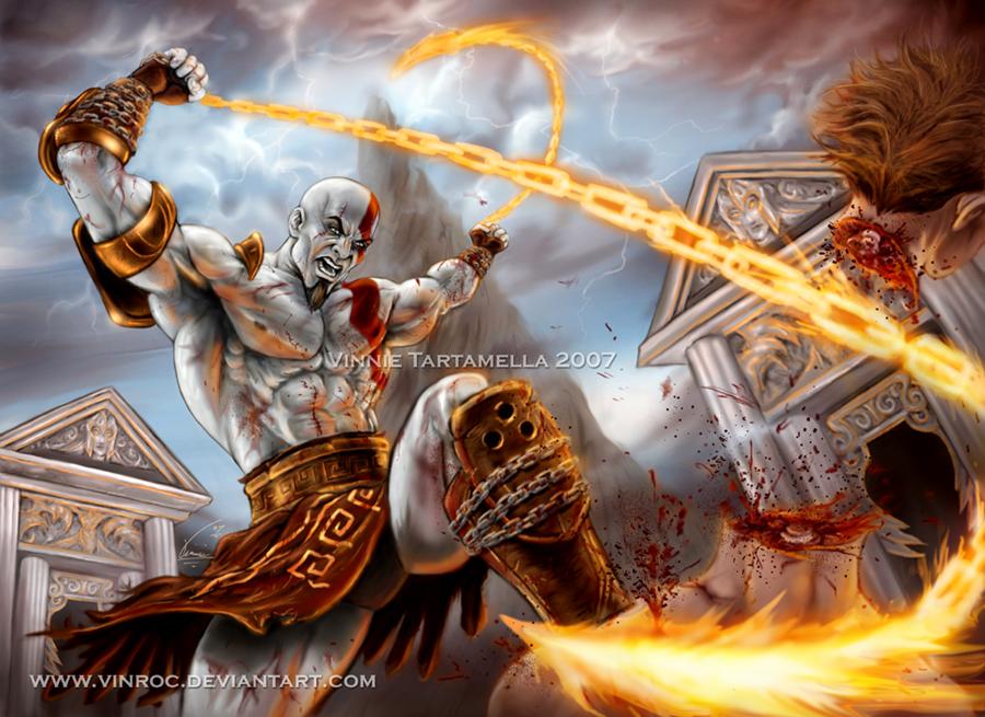 foto god of war