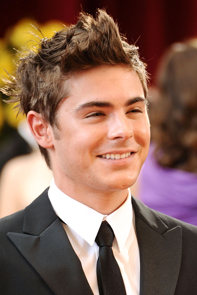 Funny Image Collection Zac Efron Hairstyle With Man S