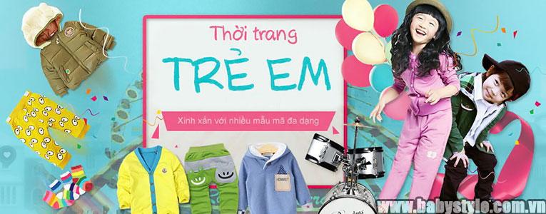 Địa chỉ bán buôn sỉ quần áo trẻ em tại TPHCM