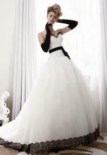 Vestidos de Novia Blanco y Negro, parte 3