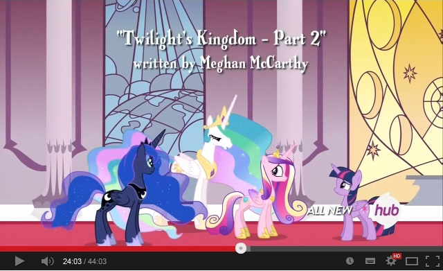 My Little Pony: Friendship is Magic - Twilight's Kingdom - Part 2