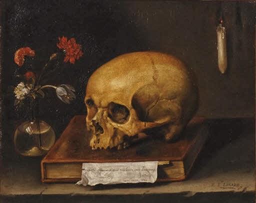 © Fundación Gustav Rau. Vánitas (Jacques Linard, 1644)
