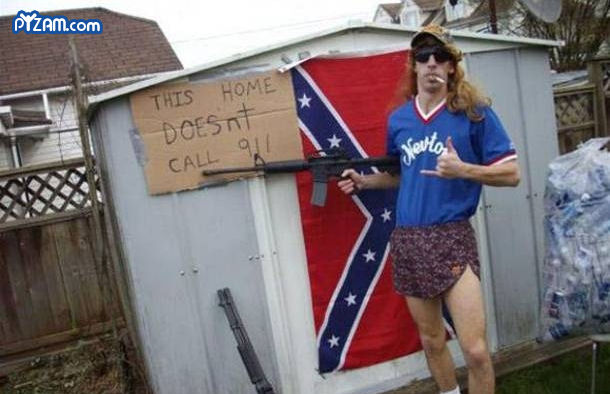 the symbolism of the redneck in society of today