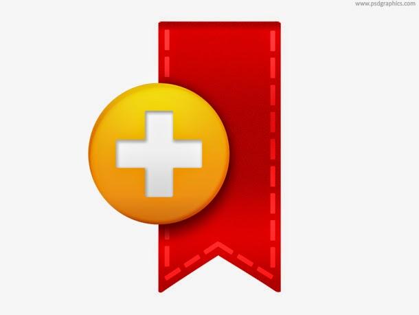 Bookmark Icon PSD