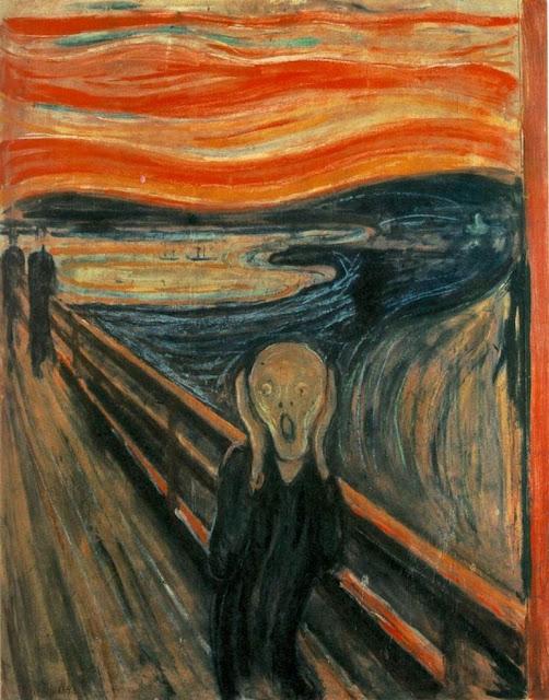 """Э. Мунк. """"Крик"""" (1893)"""