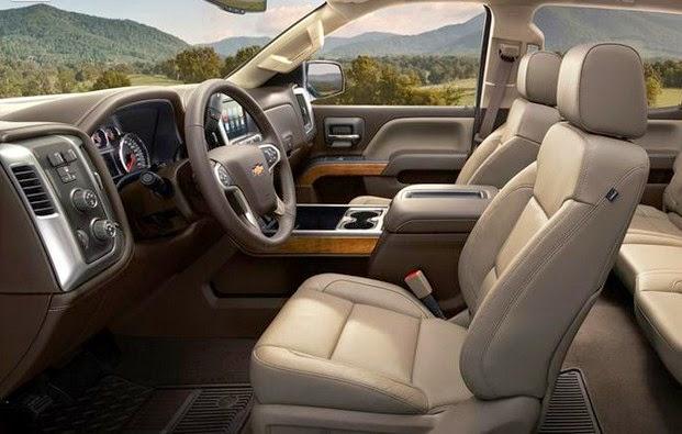 2016 Chevy Duramax interior