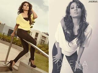Deena Tissera black sexy