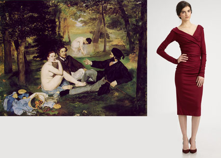 Manet, Diane Von Furstenberg