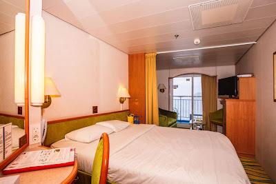 SuperStar Aquarius Ocean View State room with balcony | Sarawak Malaysia Borneo