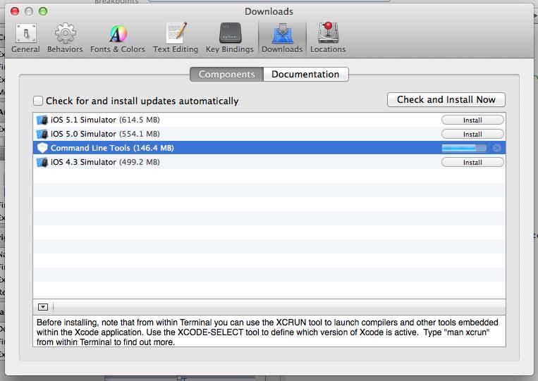 install git mac xcode
