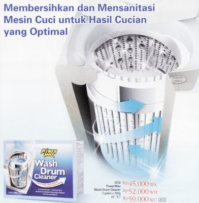 PowerMax Wash Drum Cleaner