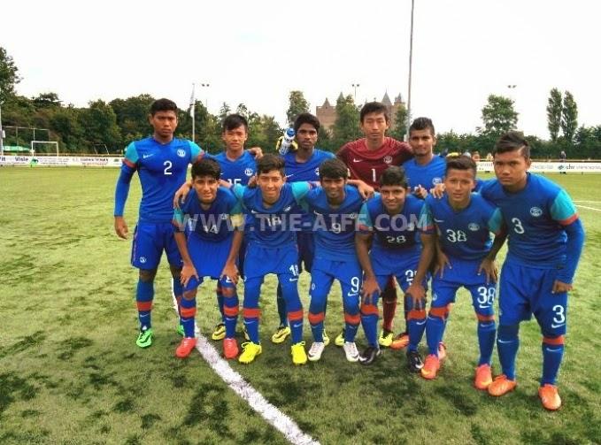 AIFF U-16 finish fourth
