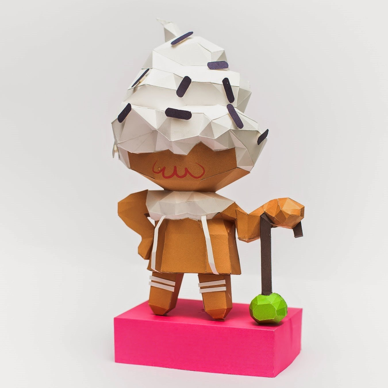 Cookie Run and Cream Cookie Papercraft