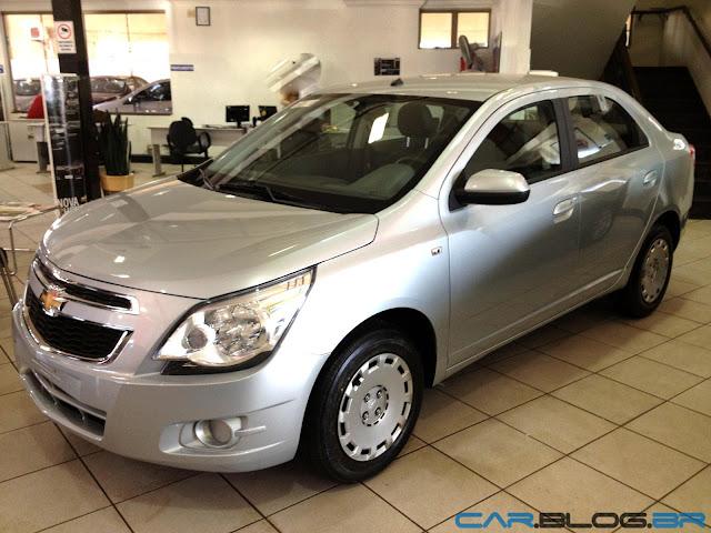 Chevrolet Cobalt LT 2013 - prata polaris