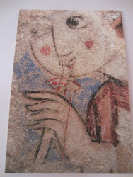 Pintura árabe - Museo de las Claras Murcia