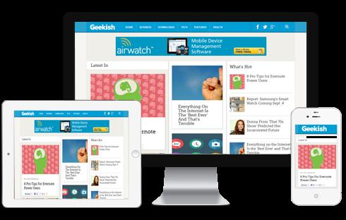 Geekish – Technology News Blogger Template