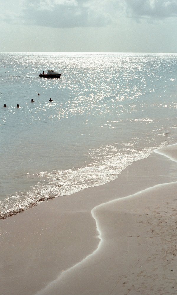 summer moodboard beach