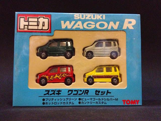 Jual Diecast Miniatur Mobil - Giftset Suzuki Karimun (Wagon R)