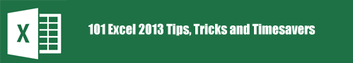 101 Excel Tips and Tricks[img]