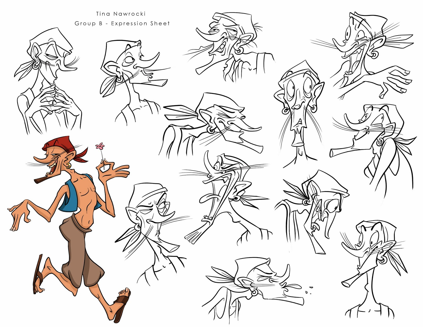 Character Design Reel : Tina nawrocki art and animation character design