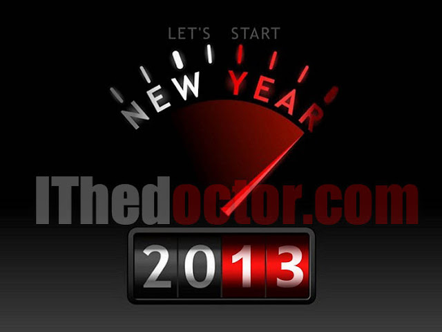Happy New Year 2013 ithedoctor.com