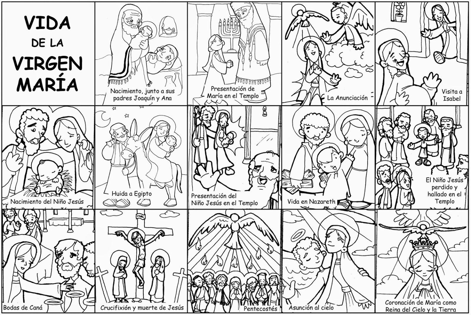 MATERIALES DE RELIGIÓN CATÓLICA: mayo 2015