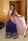 Neetha sizzling photo shoot in half saree-thumbnail-1