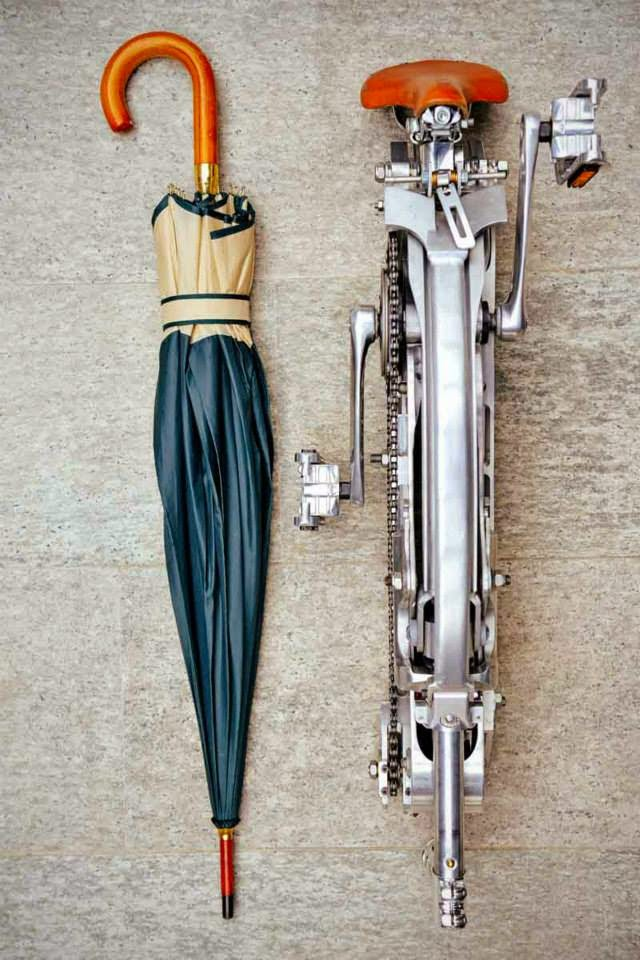 kerékpár, összecsukható kerékpár, Sada Bike, Gianluca Sada