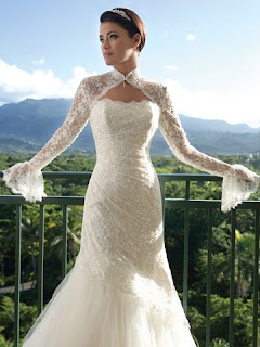 Rahsia Hatiku Cardigan Wedding Dress