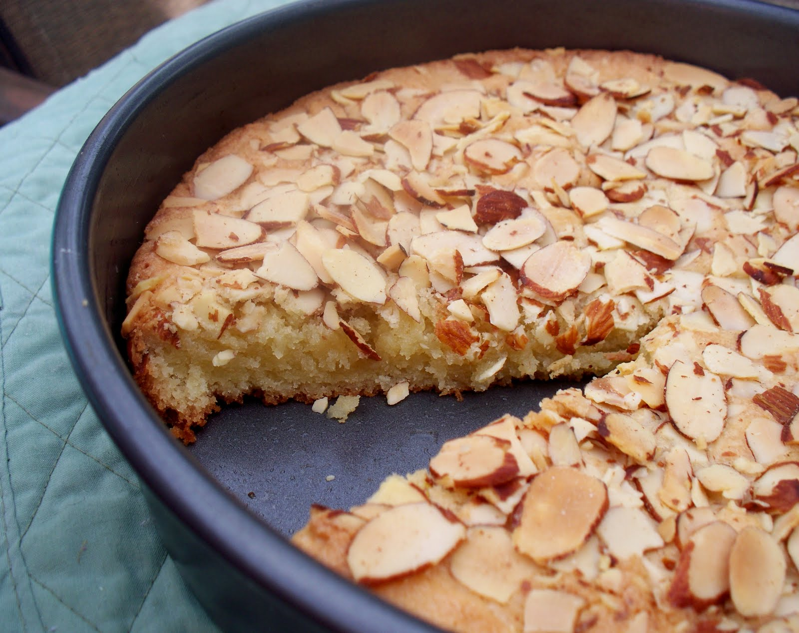 Almond Cake Recipe — Dishmaps
