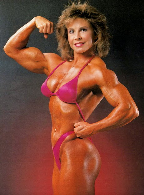 80's Female Muscle: Janice Ragain