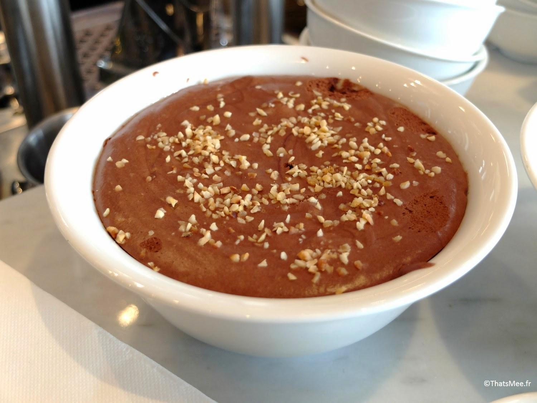 dessert mousse au chocolat maison brunch Le Beaumarchais Paris Bastille café restaurant, brunch pas cher à Paris Beaumarchais buffet dessert à volonté
