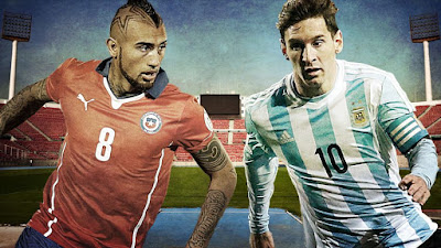 Canal Chile vs Argentina