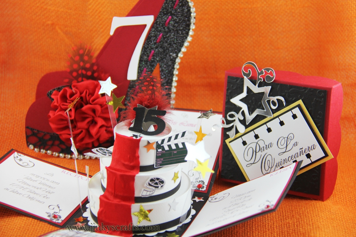 Jinky S Crafts Amp Designs High Heel Shoe 3d Cards