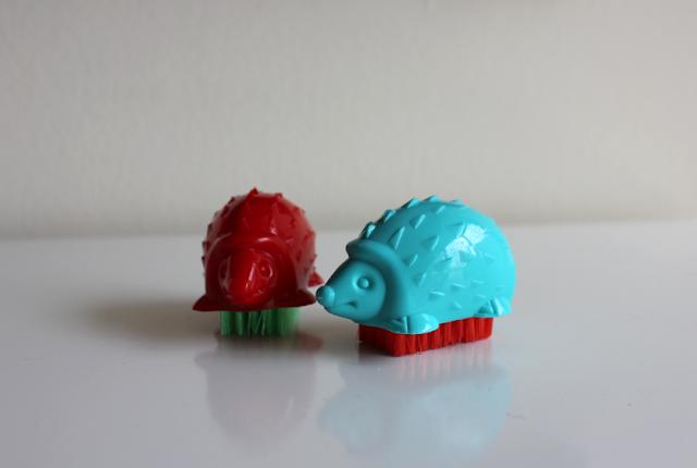 Hedgehog nail brushes Target