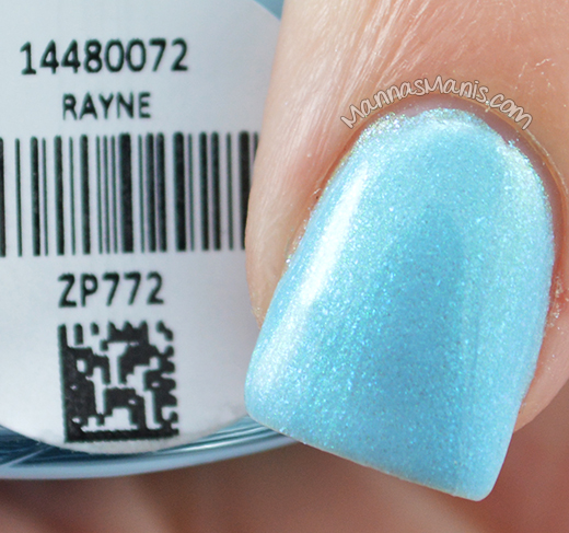 Zoya Delight Rayne swatches