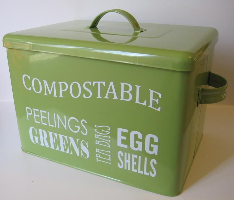 Countertop Compost Bin : Tea With Friends: The tea lovers compost bin