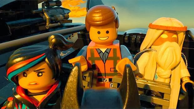 The Lego Movie cast plot trailer