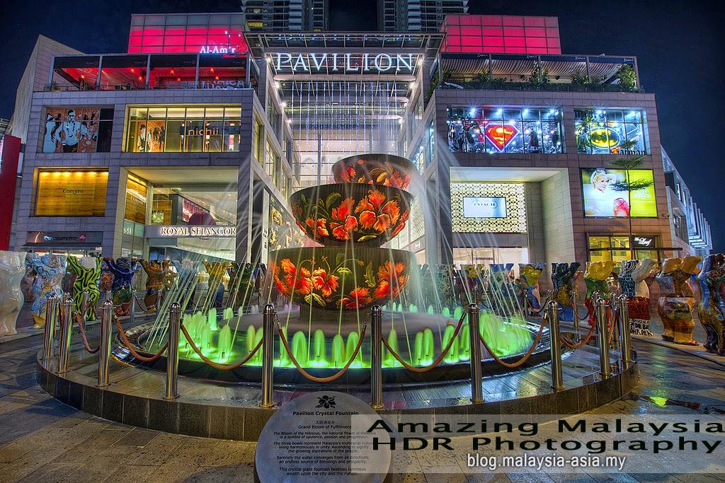 Pavilion Shopping Mall, Kuala Lumpur HDR Photography